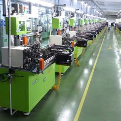 Cylindrical Vibration Motor Factory Production Line - COIN WINDING MACHINES