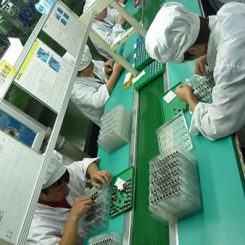 Vibration Motor Factory Production Line - PACKING OF VIBRATION MOTORS IN TRAYS