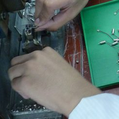 Vibration Motor Factory Production Line - PRESS FITTING COUNTER WEIGHT TO SHAFT OF MOTOR