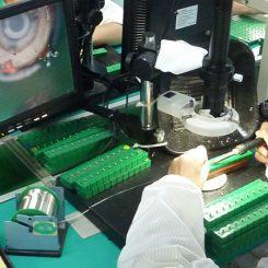 Vibration Motor Factory Production Line - VIDEO MICROSCOPES