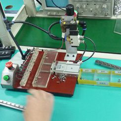 Vibration Motor Factory Production Line - VIBRATOR MOTOR TEST STATION